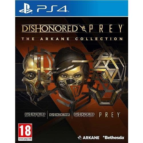 Dishonored & Prey The Arkane Collection PS4 Game